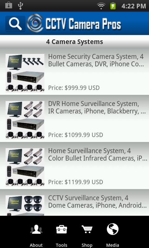 Android App Surveillance Systems
