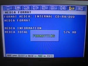 CD Formatting