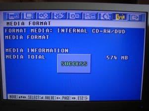 CD Format OK