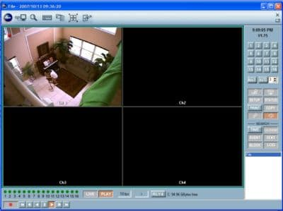 Surveillance Video Playback