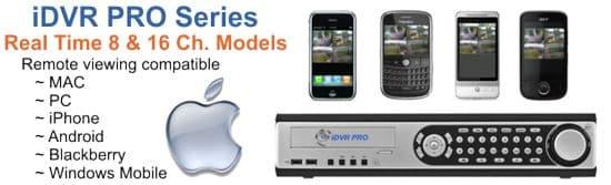 MAC Compatible CCTV Camera DVR