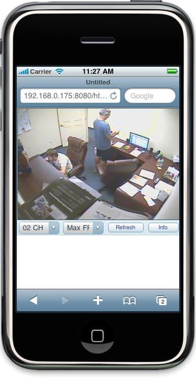 Cctv Digital Video Recorder 8 Camera Dvr Mac Compatible