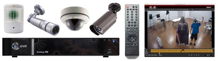 Système de caméra de sécurité CCTV HD