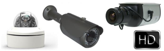 Caméras de sécurité HD