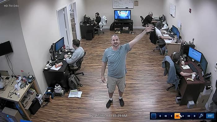 HD-TVI-D4V Indoor Dome Security Camera 1080p Video Surveillance