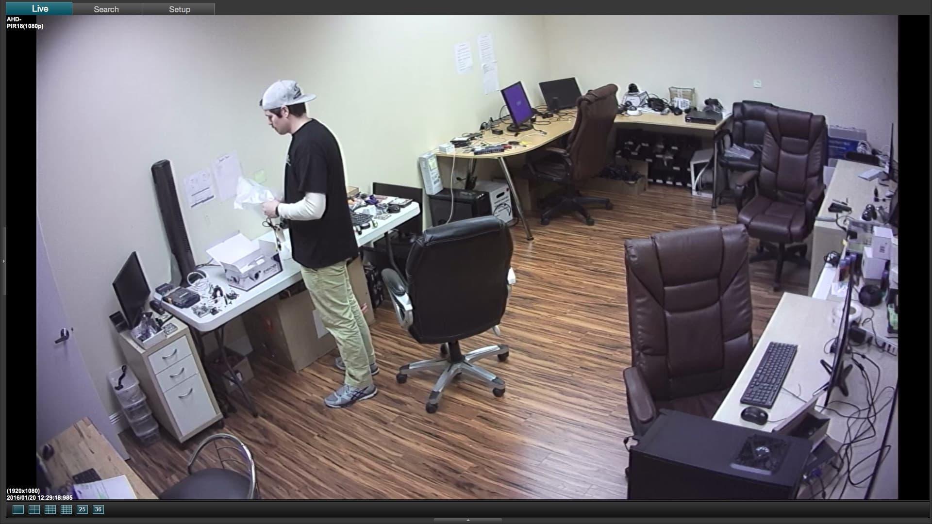Mac DVR Viewer Software 1080p security camera