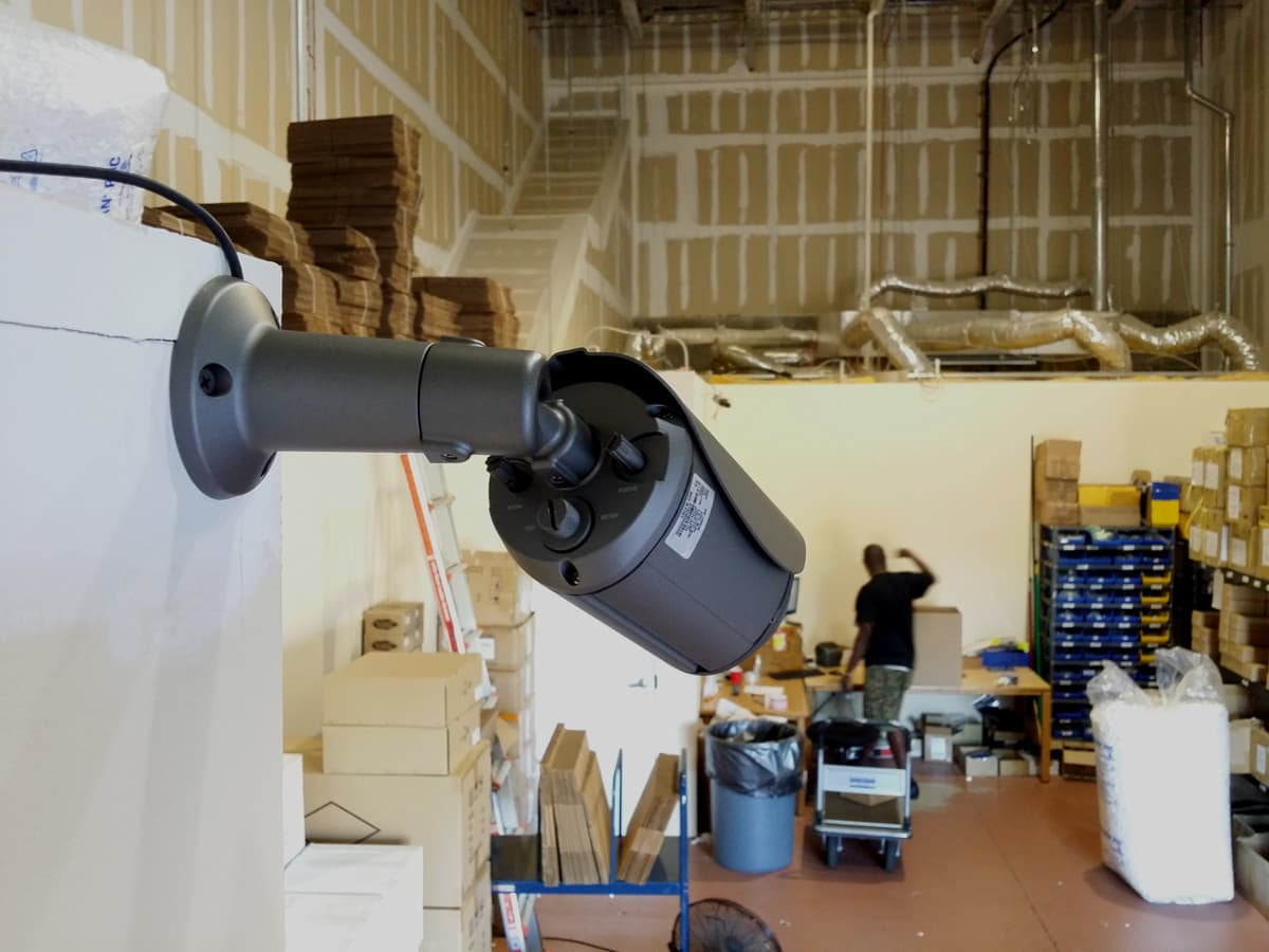 AHD Camera Installation