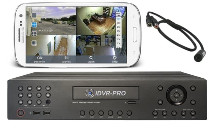 Android App Remote Audio Surveillance