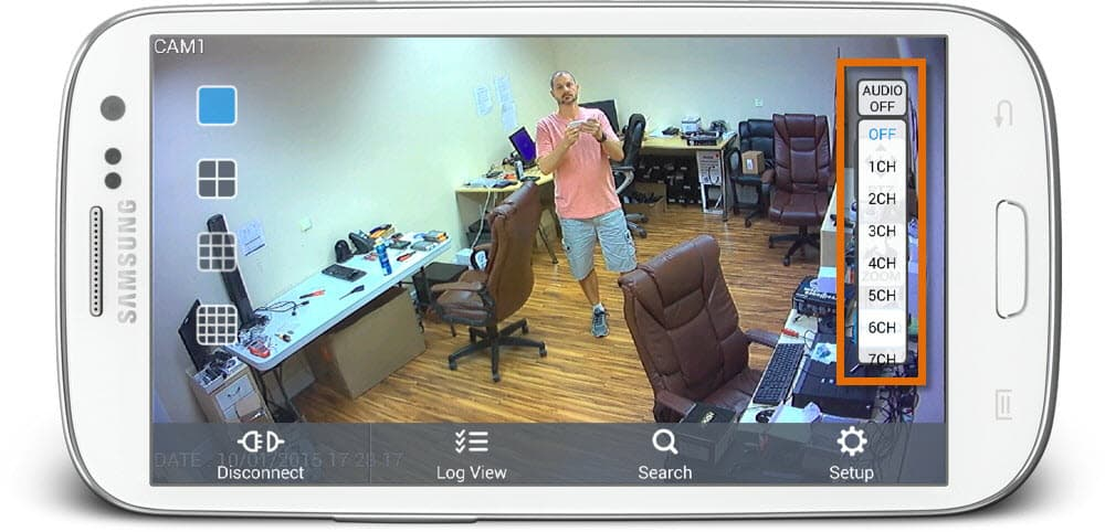 Android Security Camera App with Live Audio Surveillance