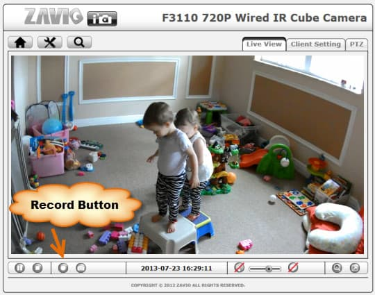 Baby Camera Record Video
