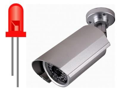 How long do IR LEDs last on CCTV cameras?