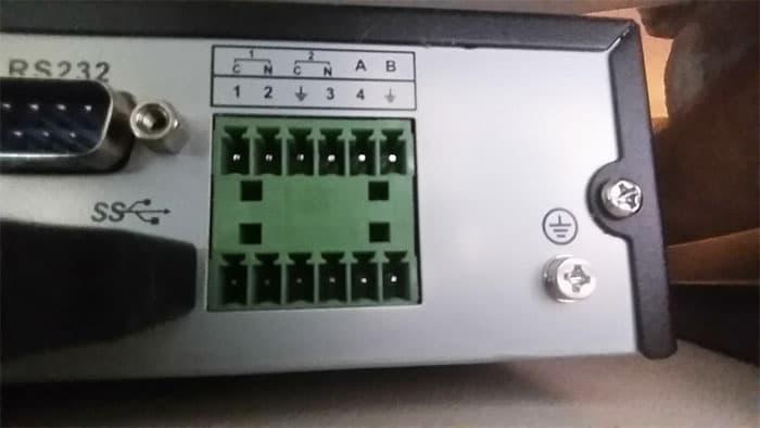 Alarm Relay Output Setup For Lorex Cctv Dvr