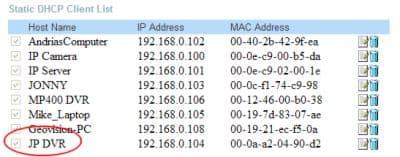 Dlink IP Setup