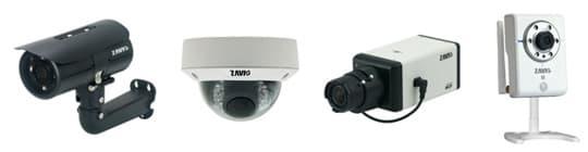 IP Cameras with Alarm Input / Output
