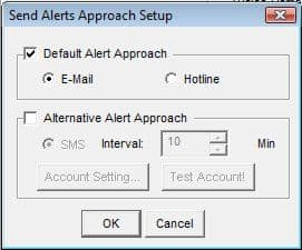 Geovision Send Alerts Approach Configuration