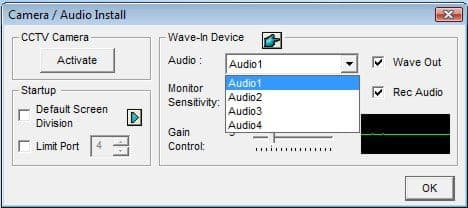 Geovision Enable Audio