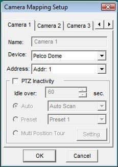 PTZ Camera Setup