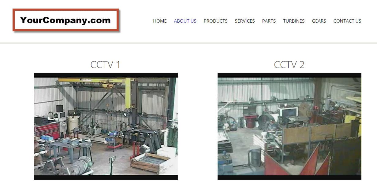 Geovision Security Cameras Website Streaming