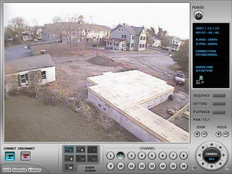 Construction Security Camera View 2