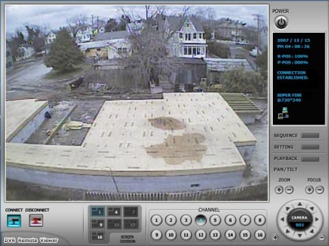 Construction Security Camera View 3