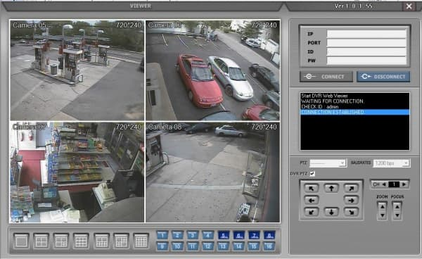 Gas station security camera system for Security camera placement software