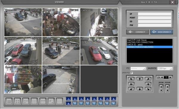 DVR Viewer 8 Cameras