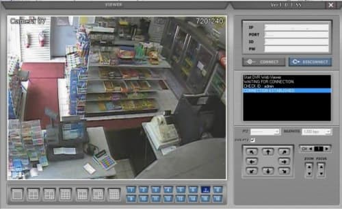 Gas Station Security Camera System