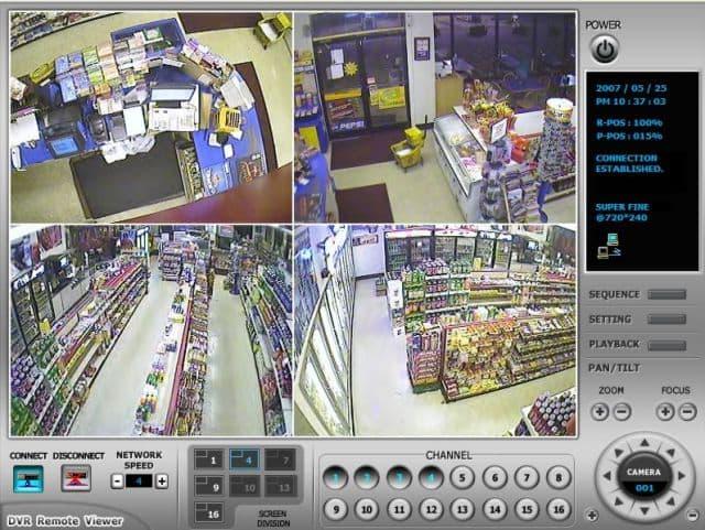 Remote Surveillance Dvrs View Security Cameras Over The