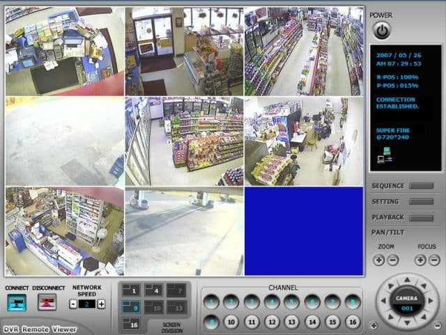 Remote Surveillance Dvrs View Security Cameras Over The