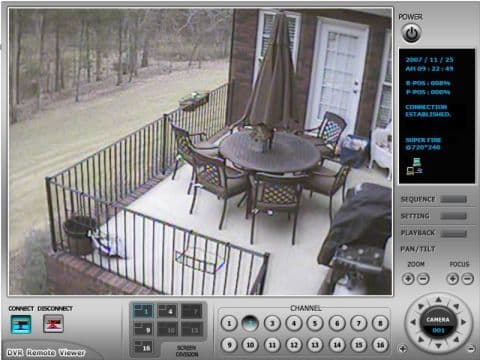 ... entrance security camera view outdoor patio deck security camera view
