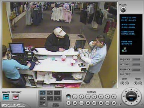 Retail Surveillance System Remote Dvr Viewer
