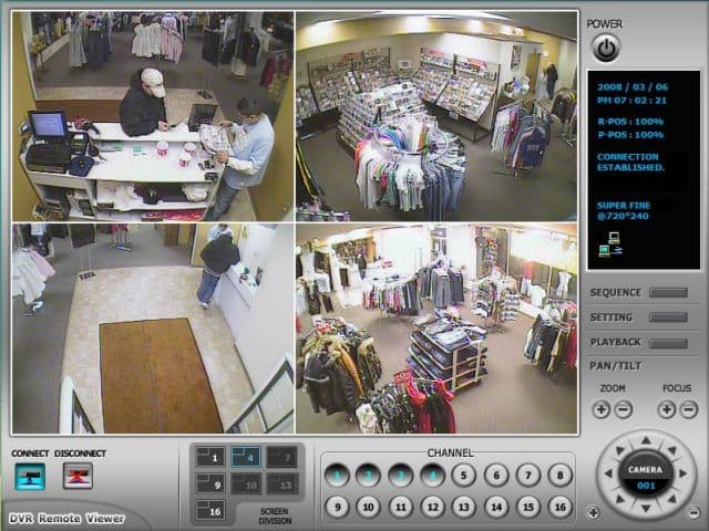 Retail Surveillance System Remote Dvr Viewer