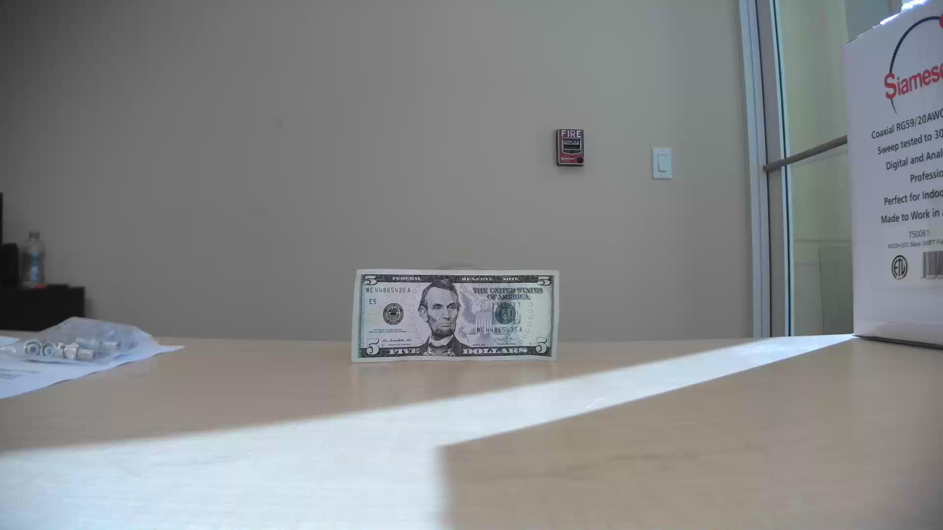 IP Security Camera Monitor Cash Register