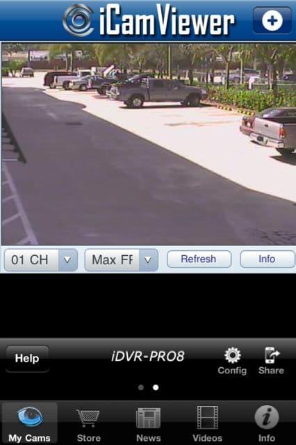 CCTV Camera iPhone App