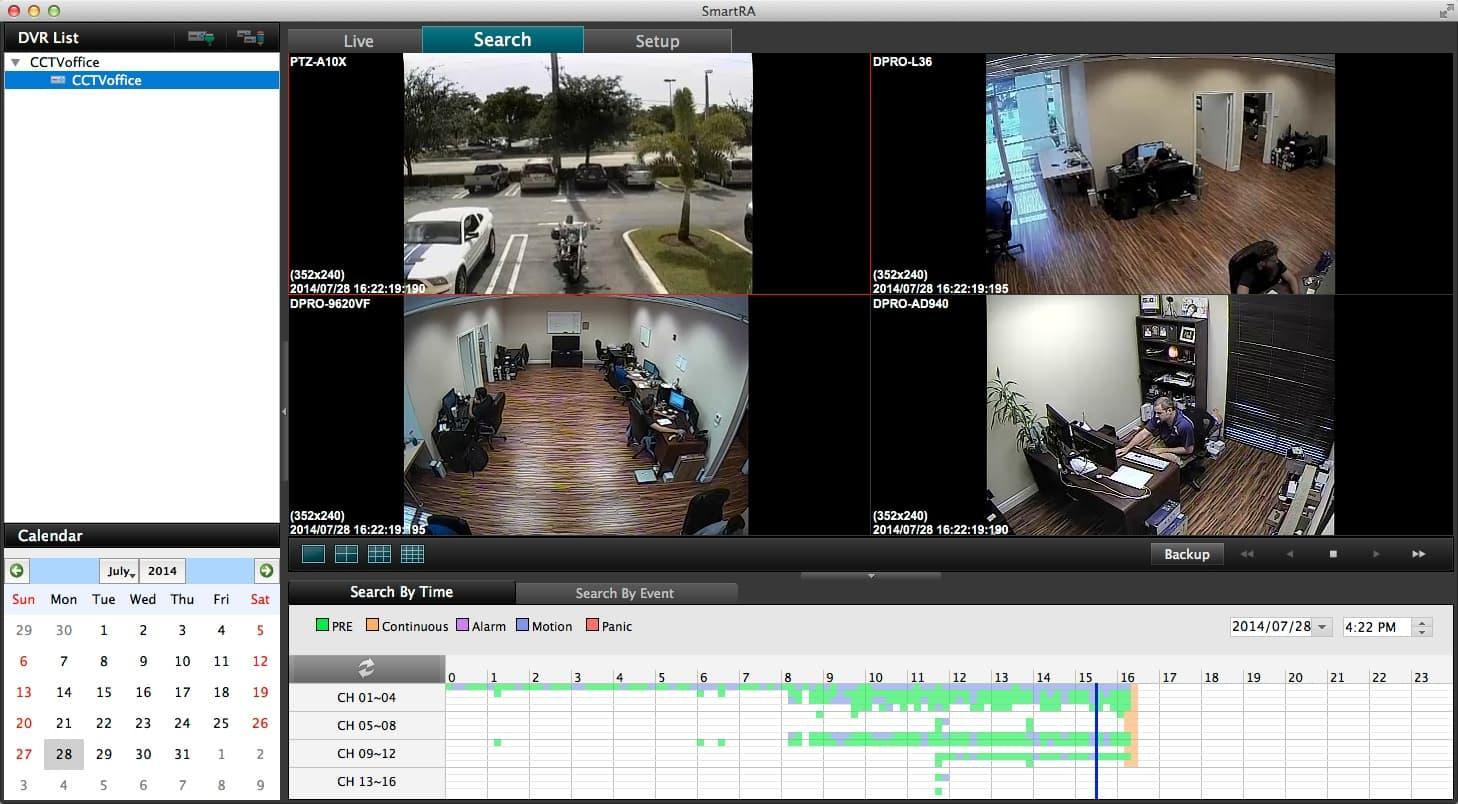 Mac Compatible CCTV Surveillance