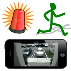 Push Video Notification IP Camera