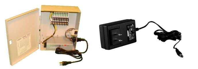 Boîtier d'alimentation du système de caméra de sécurité