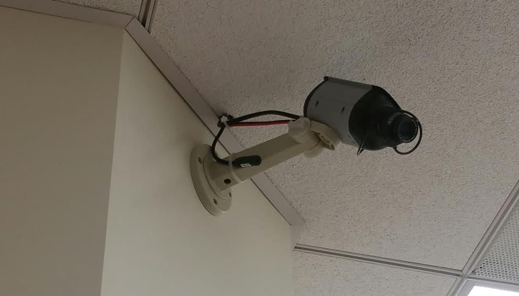 CCTV Camera with Audio Surveillance Microphone