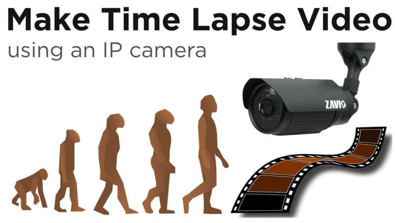 IP Camera Time Lapse Video