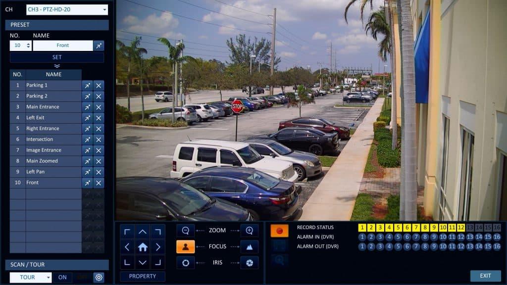 1080p AHD PTZ Camera