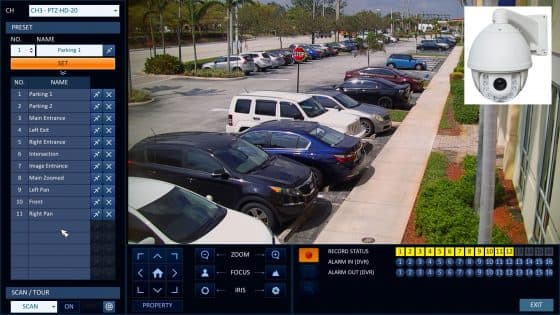 20x Zoom HD PTZ Camera Captures Surveillance Video 550 Feet Away!