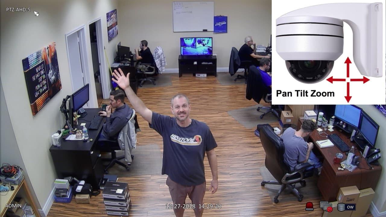 1080p pan tilt zoom camera