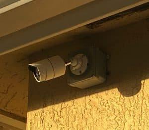 1080p security camera installation