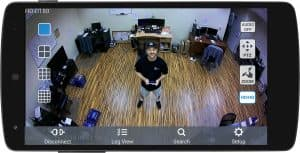 180 Degree Security Camera Android Mobile App