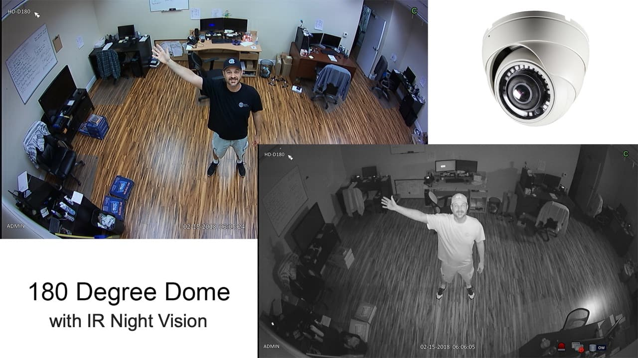 180 Degree Security Camera