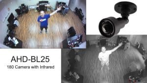 Bullet 180 Security Camera with Infrared Night Vision