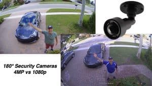 180 Security Cameras - 4mp vs 1080p