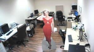 2 Megapixel IP Security Camera Image