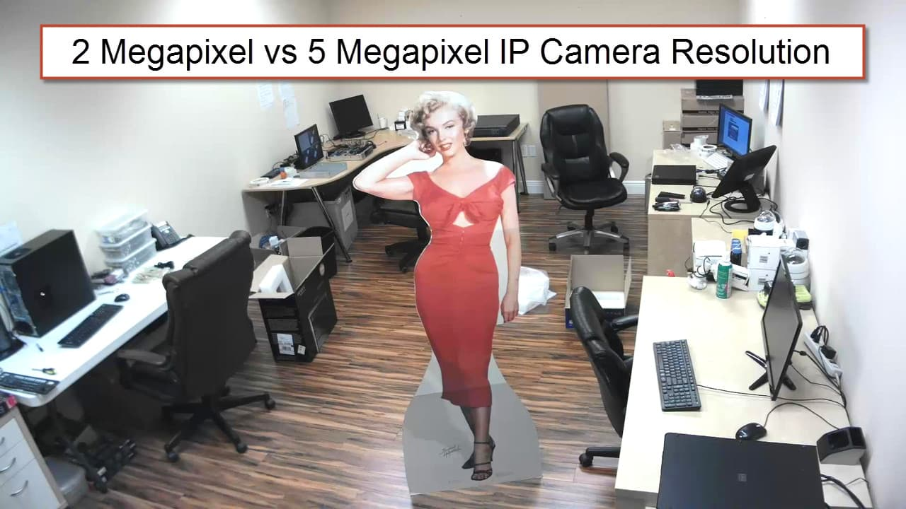 compare 2 megapixel vs 5 megapixel ip security camera resolution. Black Bedroom Furniture Sets. Home Design Ideas