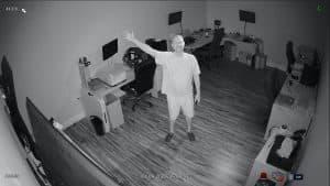 4K IR night vision security camera